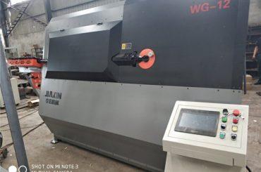 4-12mm hydraulischer automatischer cnc 2D Drahtbiegemaschinenlieferant