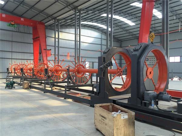 CNC-Stahlkäfig-Schweißmaschine Stahlrollennahtschweißergebrauch für Gebäude