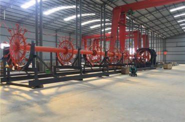 Bauschachtschweißmaschine mit ISO