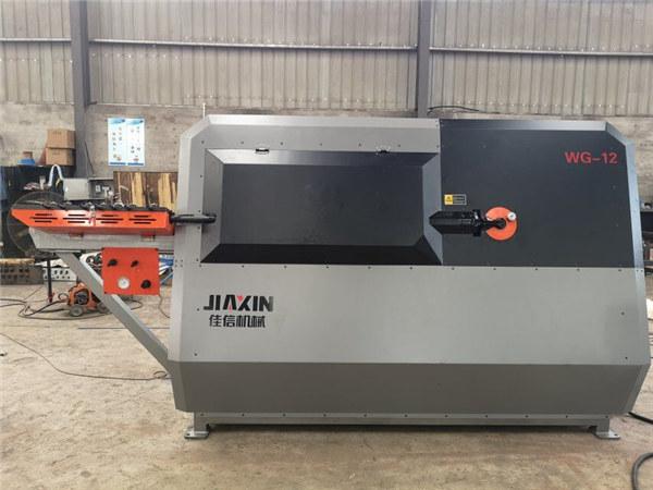 Tragbare Biegemaschine für Bewehrungsbügel CNC-Rundstahlschneid- und Biegemaschine